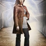 Catherine Tate Doctor Who Leather Trench Coat