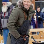 Chad Michael Murray Love in Winterland Movie Green Jacket