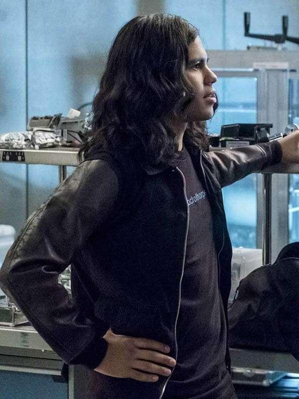 Cisco Ramon The Flash Reverb Letterman Jacket