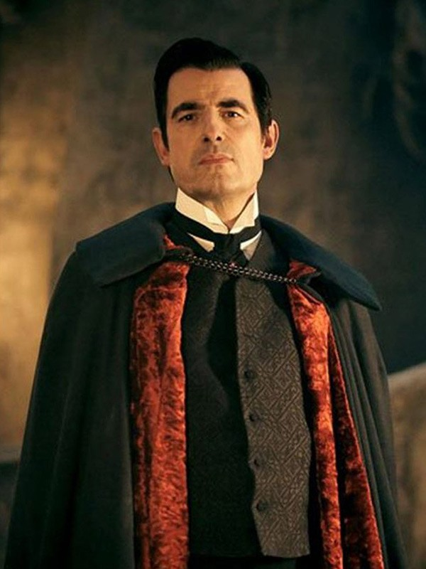 Claes Bang Wool Cape From Dracula