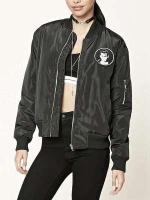 Johnny Depp Cry Baby Women Bomber Jacket