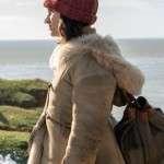 Dafne Keen His Dark Materials Lyra Belacqua Fur Shearling Coat