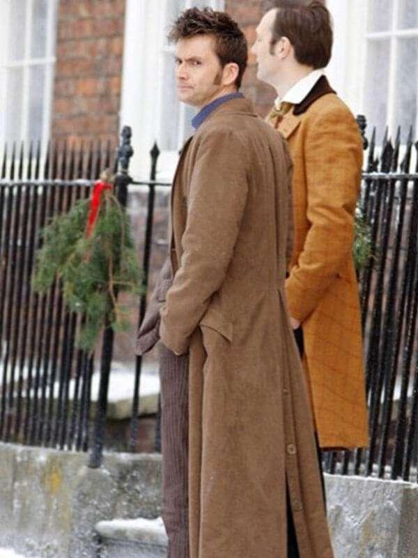 David Tennant 10th Doctor Who Wool Coat