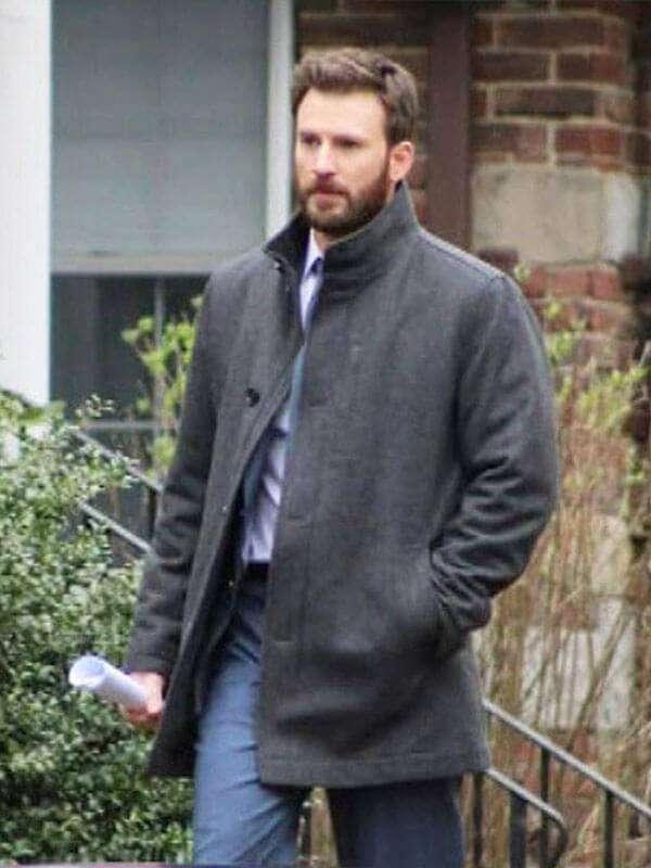 Defending Jacob Chris Evans Wool Coat