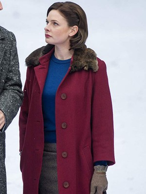 Katya Despite the Falling Snow Lauren Wool Coat