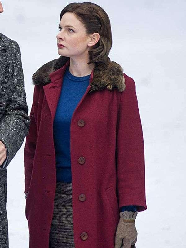 Despite the Falling Snow Lauren Coat