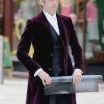 Doctor Who Peter Capaldi Caecilius Maroon Coat
