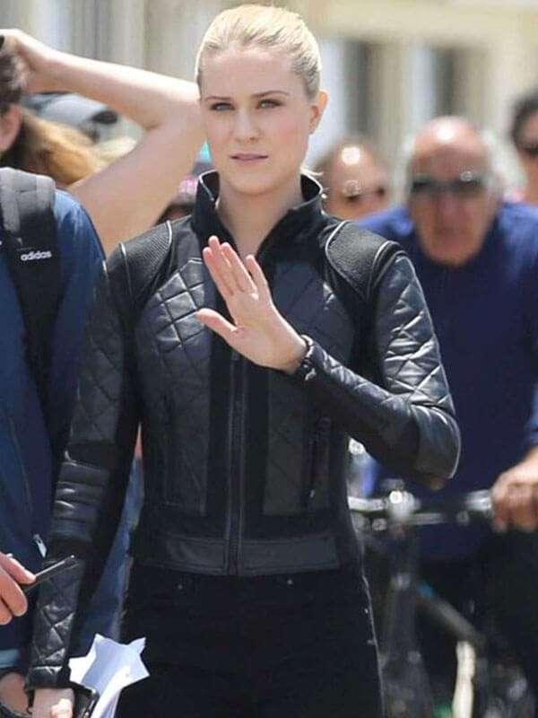 Dolores Abernathy Westworld Season 3 Black Leather Jacket