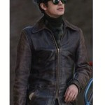 Factory Girl Musician Distressed Leather Jacket