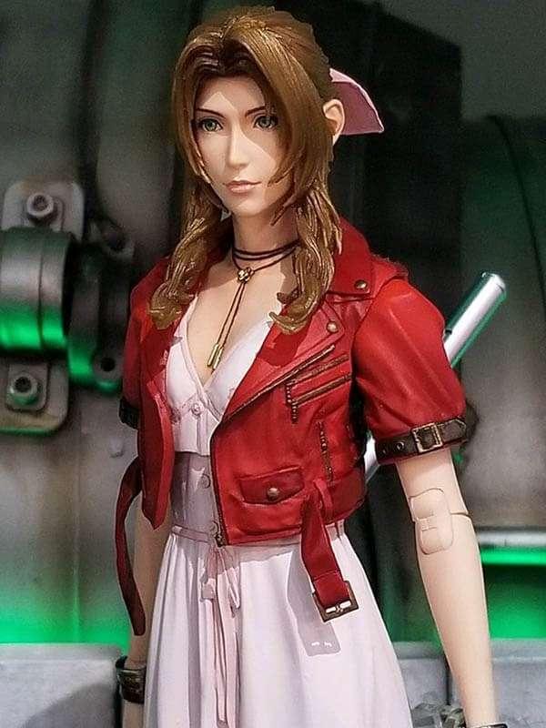 Final Fantasy VII Aerith Gainsborough Leather Jacket