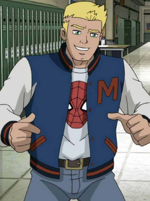 Flash Thompson Spider Man Jacket