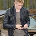 Footballer Marco Reus Slimfit Leather Jacket
