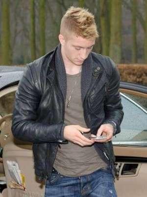 Footballer Marco Reus Leather Jacket