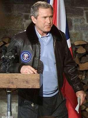 George Bush Bomber Jacket