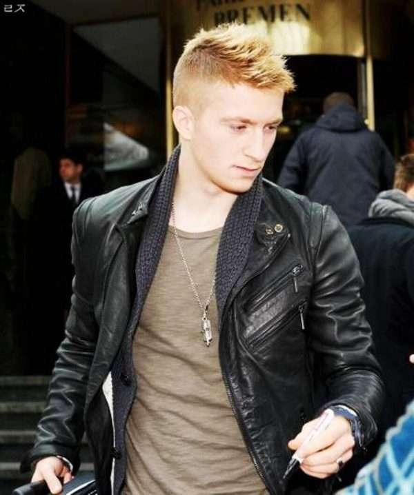 German Footballer Marco Reus Leather Jacket