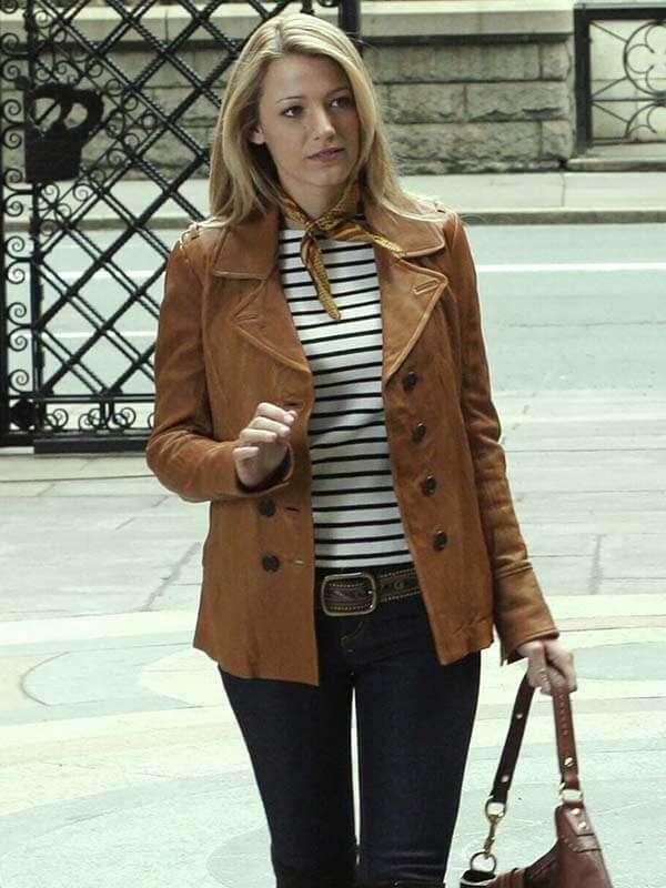 Gossip Girl Blake Lively Jacket