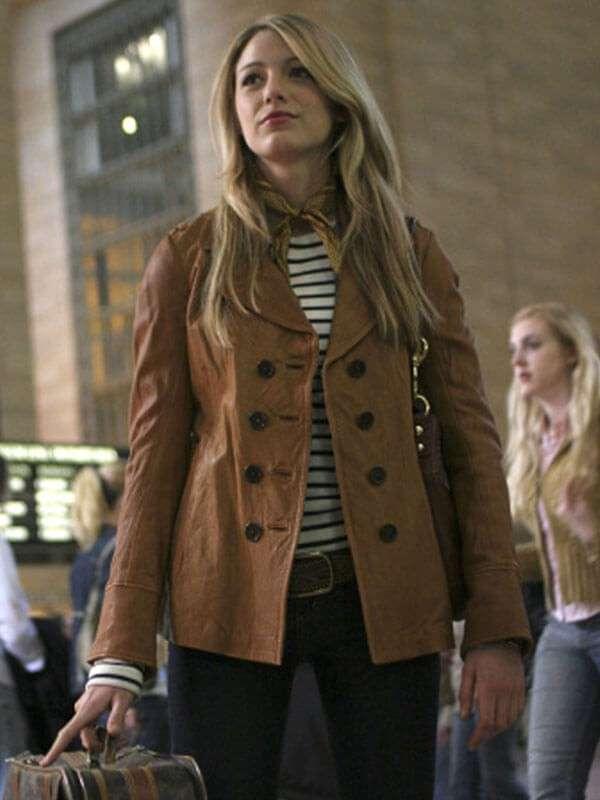 Gossip Girl Serena van der Woodsen Jacket
