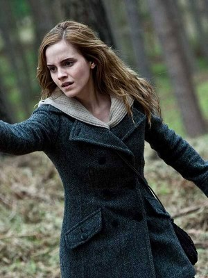 Emma Watson Harry Potter and the Deathly Hallows Coat