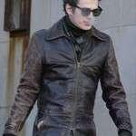 Hayden Christensen Factory Girl Musician Leather Jacket