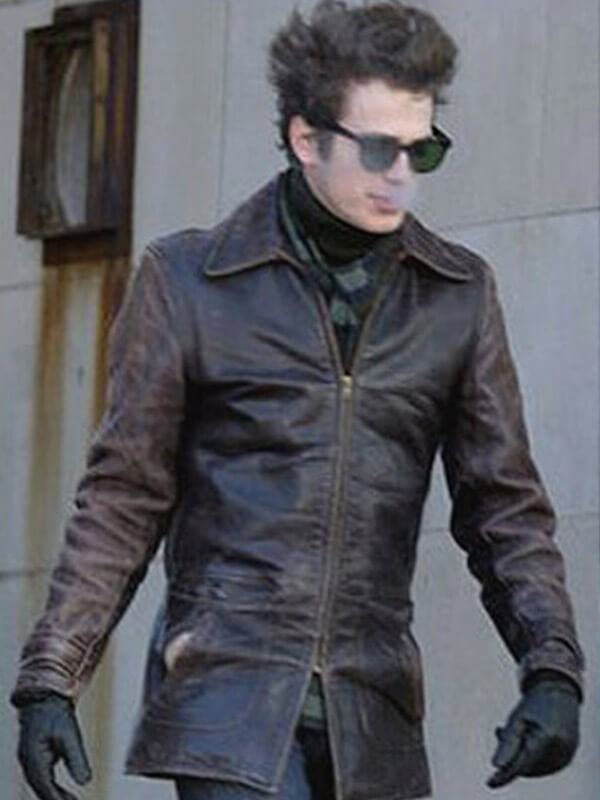Hayden Christensen Factory Girl Musician Leather Jacket