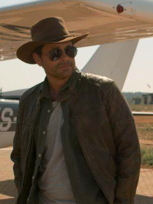 Holiday in the Wild Rob Lowe Leather Jacket