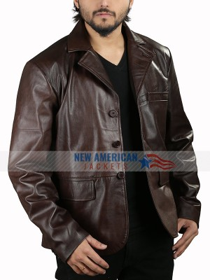 Hugh Grant The Gentlemen Leather Jacket