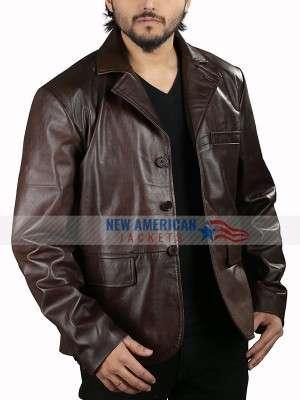 Hugh Grant The Gentlemen Leather Jacket