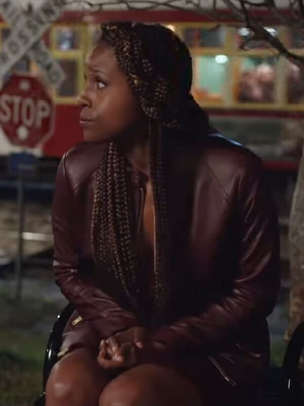 Issa Rae The Lovebirds 2020 Leather Jacket