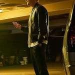 Joel Kinnaman Black Leather Jacket