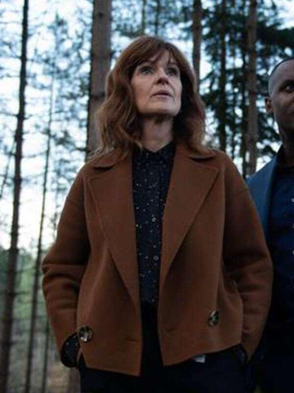 Johanna Griffin The Stranger Wool-Blend Brown Jacket