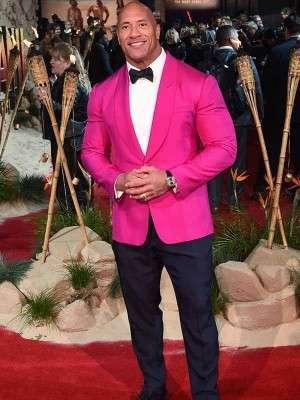 Dwayne Johnson Jumanji The Next Level Premiere Blazer