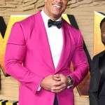 Jumanji The Next Level The Rock Pink Blazer