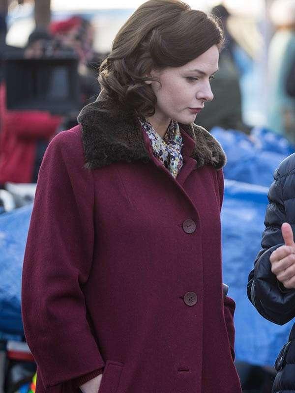 Katya Despite the Falling Snow Lauren Wool Coat