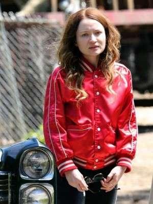 American Gods Emily Browning Varsity Jacket