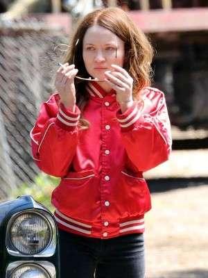 Emily Browning American Gods Laura Moon Varsity Jacket