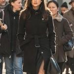 Lela Loren POWER Black Wool Coat