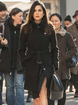 TV Series Power Lela Loren Black Long Coat