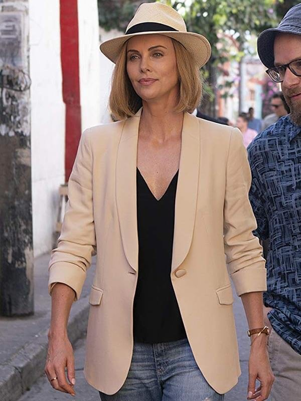 Long Shot Charlize Theron Blazer