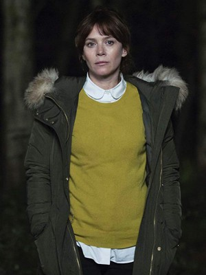 Anna Friel Marcella Backland Jacket