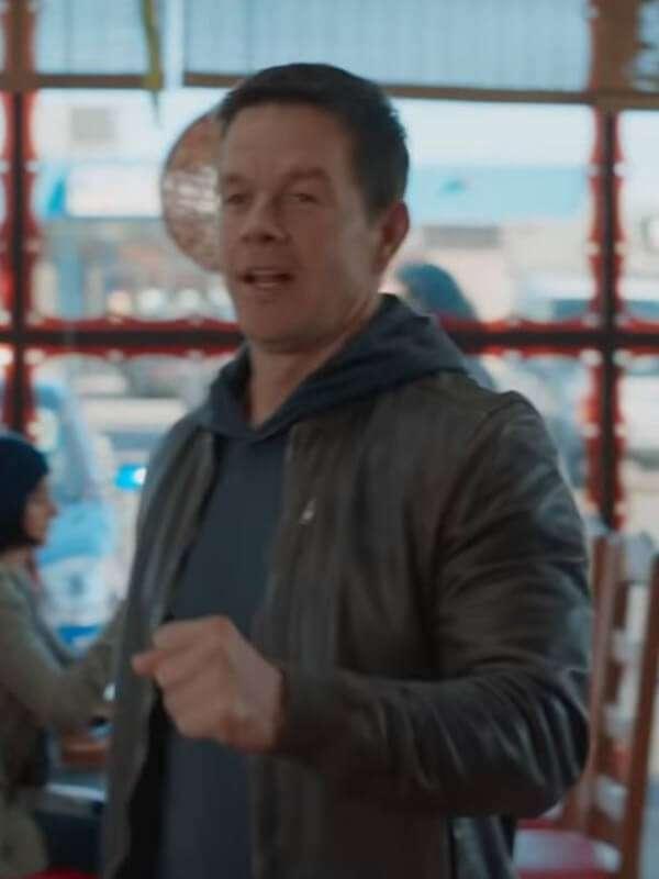 Mark Wahlberg Movie Spenser Confidential Brown Jacket
