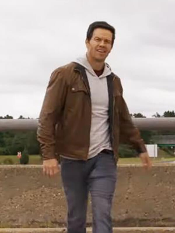 Mark Wahlberg Spenser Brown Leather Jacket