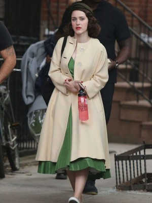 The Marvelous Mrs. Maisel Rachel Brosnahan Wool Coat