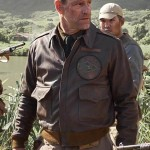 Midway Aaron Eckhart Leather Jacket