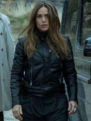 Money Heist Raquel Murillo Leather Jacket