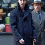 Motherless Brooklyn Lionel Essrog Black Pea Coat For Mens