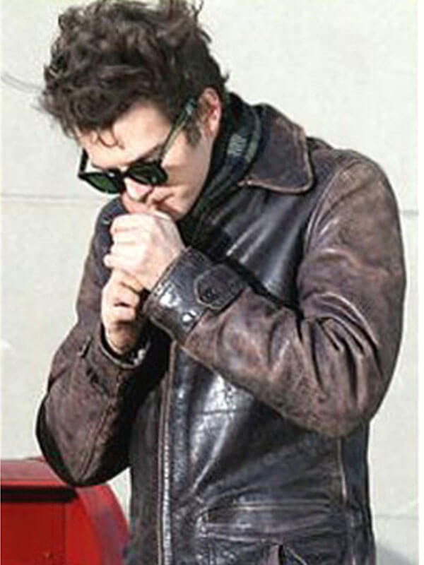 Musician Factory Girl Brown Leather Jacket