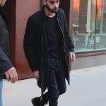 NYC Zayn Malik Black Wool Coat