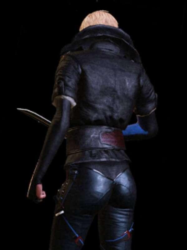 Olga Sedova Video Game Remember Me Leather Jacket