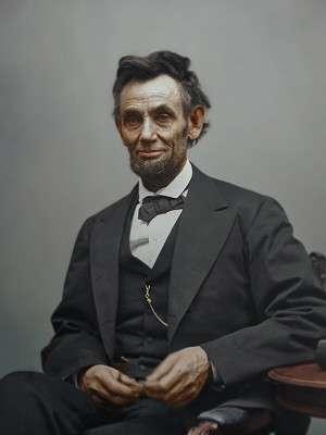 Patriotic Party Abraham Lincoln Coat