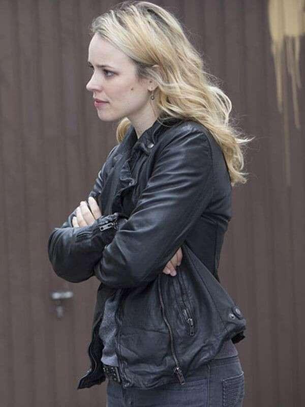 Rachel McAdams A Most Wanted Man Black Jacket